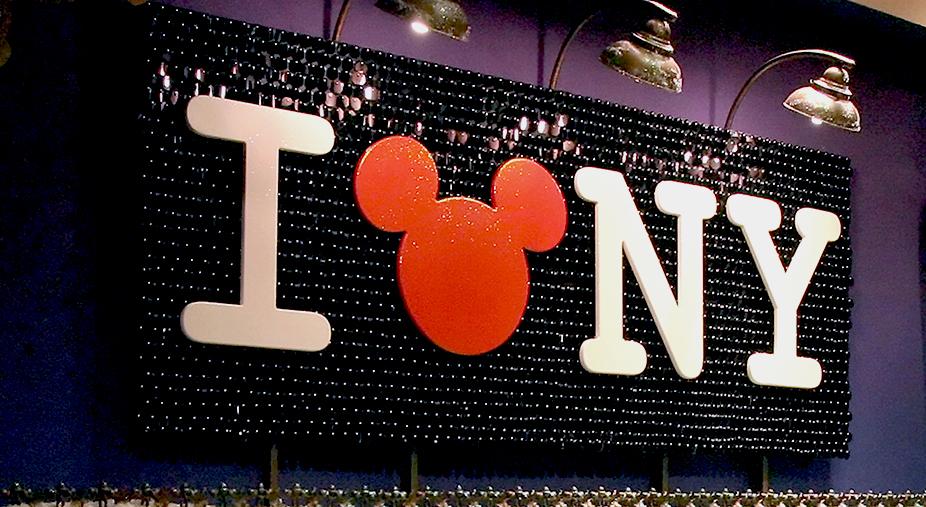 Disney Store Holiday Windows